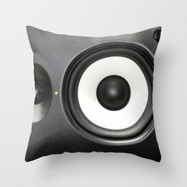 Loudspeaker Throw Pillow