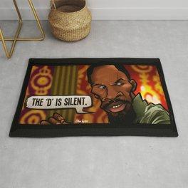 The D is Silent (Django) Rug