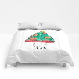 Pizza Tree Comforters
