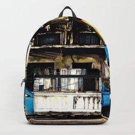 THE SUNNY STREET OF LA HABANA Backpack