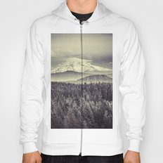 Mountains and Forest - Mt. Hood Mountain Remember the Snow Hoody