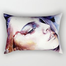 At times when we are hurt, we learn the most Rectangular Pillow