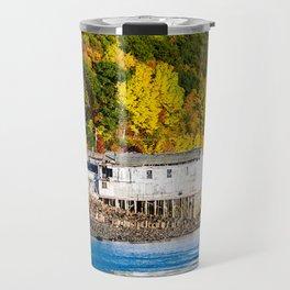Fall in Digby, Nova Scotia. Canada. Travel Mug