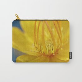 Yellow flower blue sky Carry-All Pouch