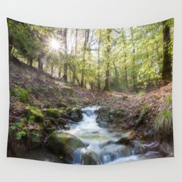 Enchanted Stream Wall Tapestry