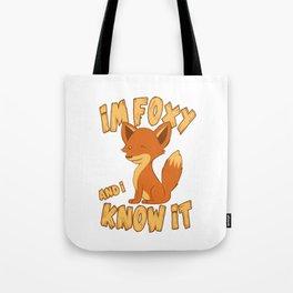 Kawaii Foxy Tote Bag