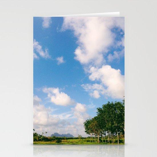 Nostalgic Sky Stationery Cards