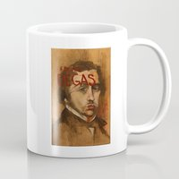 degas Mugs featuring 50 Artists: Edgar Degas by Chad Beroth