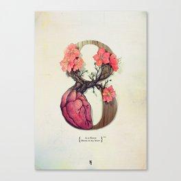 8th Canvas Print