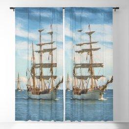 Sailing Grace Blackout Curtain