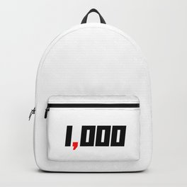 One Comma Club Humble Start Entrepreneur Backpack