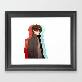 Our love is God, let's god get a slushie Framed Art Print