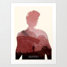 Uncharted 2 Art Print