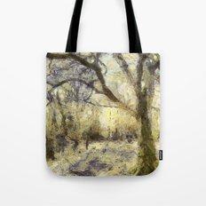 Summertime Forest Van Gogh Tote Bag