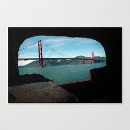 Golden Gate Bridge Daytime Canvas Print