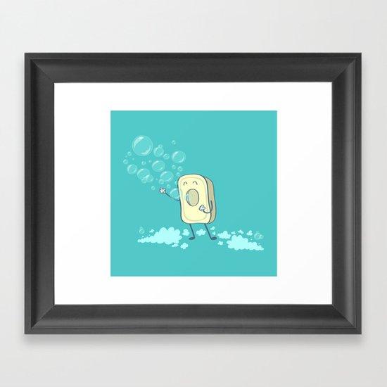 SOAPERA Framed Art Print
