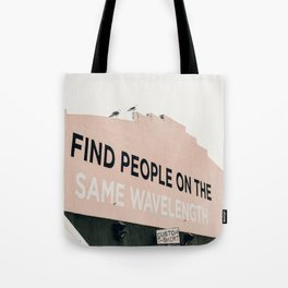 same wave ii Tote Bag