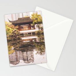Dr. Sun Yat-Sen Classical Chinese Garden Stationery Cards