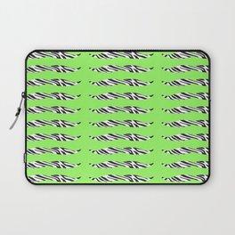 zebrastache Laptop Sleeve