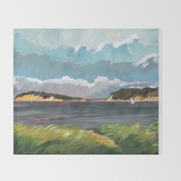 Wells Fleet Cape Cod Throw Blanket