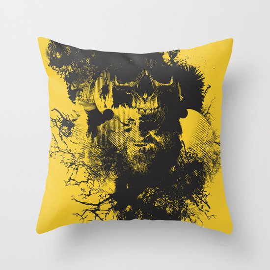 Abstract Thinking Throw Pillow