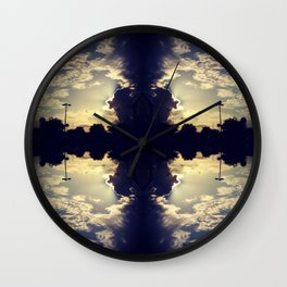Missing Puzzle Pieces Wall Clock