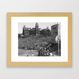 Football Game Framed Art Print