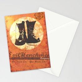 The Evil Henchmen Company Stationery Cards