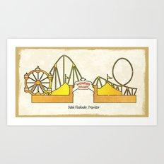 Wonder Wharf Art Print