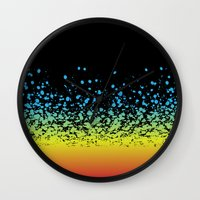 splatter Wall Clocks featuring Splatter!! by natedosmil
