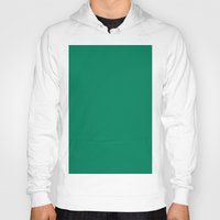 spanish Hoodies featuring Spanish viridian by List of colors
