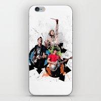 blink 182 iPhone & iPod Skins featuring Blink-182 - Tom Delonge, Mark Hoppus, Travis Barker by amy.