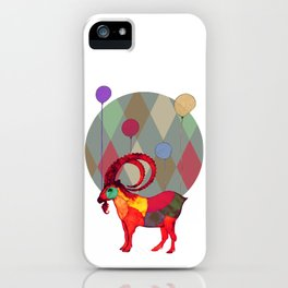 peaceful and happy iPhone Case