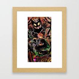 Long live the shadow king Framed Art Print