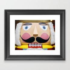 nutcracker king Framed Art Print