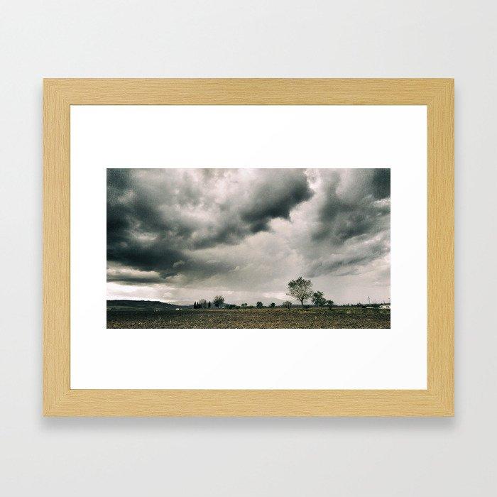 The land of the Monti Dauni Framed Art Print