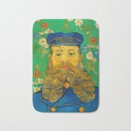 Vincent van Gogh - Portrait of Postman Bath Mat