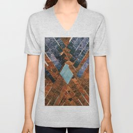 The Mountain  Unisex V-Neck