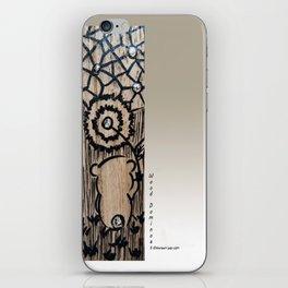 Wood Dominoes - #1 iPhone Skin