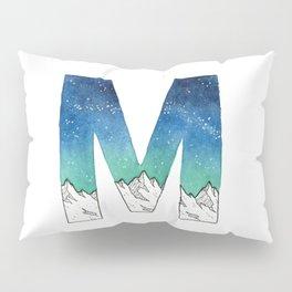Galaxy Alphabet Series: M Pillow Sham