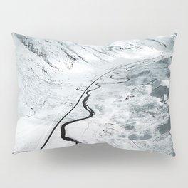 flying over iceland Pillow Sham