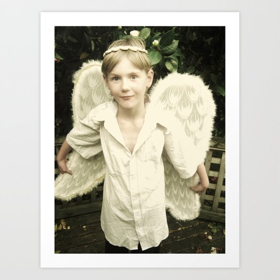 The Angel Gabriel Art Print