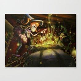 A New Recipe Canvas Print