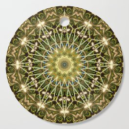 Geometric Forest Mandala Cutting Board
