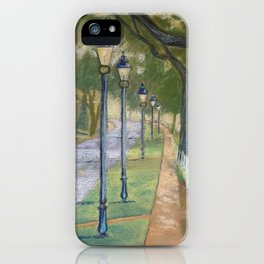 Southern lampposts iPhone Case
