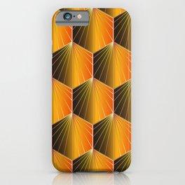 Glam Rock Orange iPhone Case