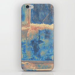 Rusted Metal Plates Abstract iPhone Skin