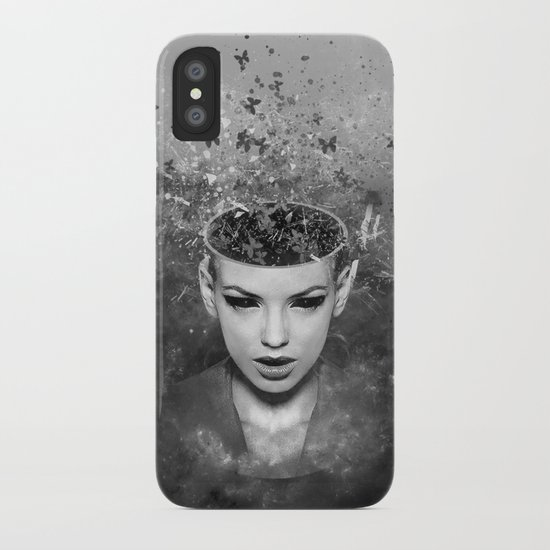 I walk alone to find the way home iPhone Case