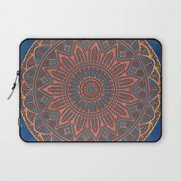 Wooden-Style Mandala Laptop Sleeve
