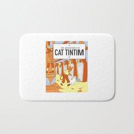 Belgian Comics Cat Tintim Bath Mat